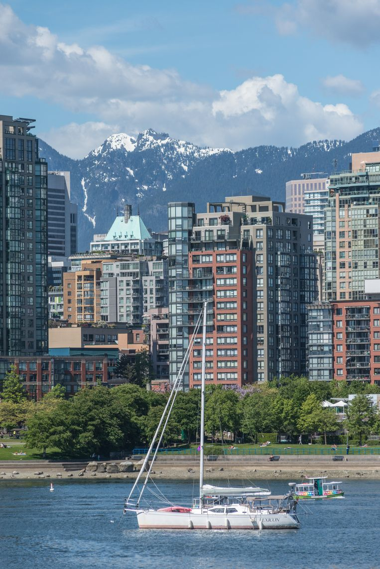 Downtown Vancouver. Beeld null