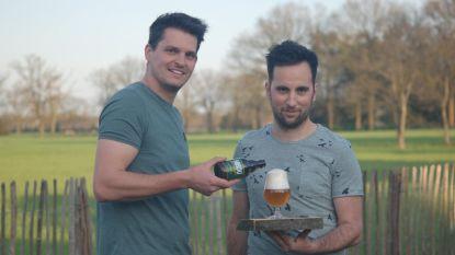 Twee neven brouwen eigen bier
