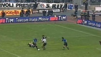 """""""De grote diefstal"""": de 15 seconden uit 1998 waar Inter-fans nog altijd woedend over zijn"""