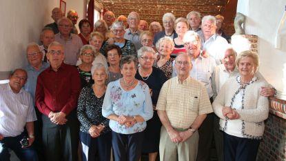 80-jarigen vieren feest