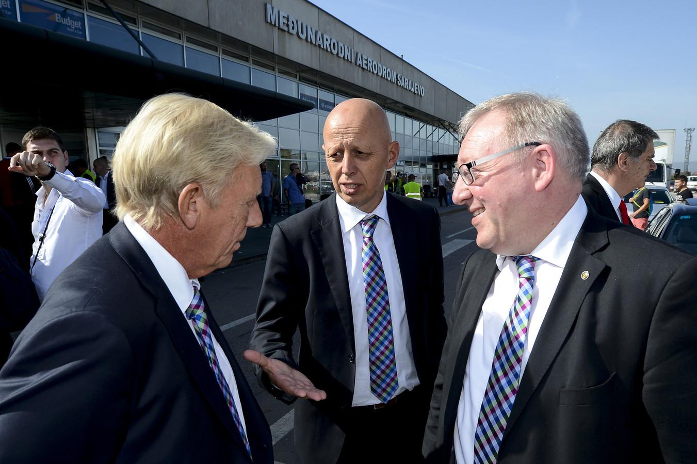 Philippe Collin, Steven Martens et Francois De Keersmaecker.