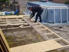 Buurtbewoners verplaatsen zwembad Rode Dorp Deventer