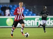 Gudmundsson schiet  Jong PSV naar remise bij MVV