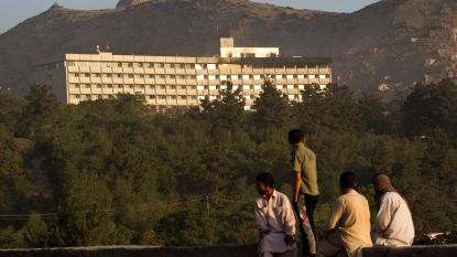 Aanval op Hotel Intercontinental in Kaboel aan de gang