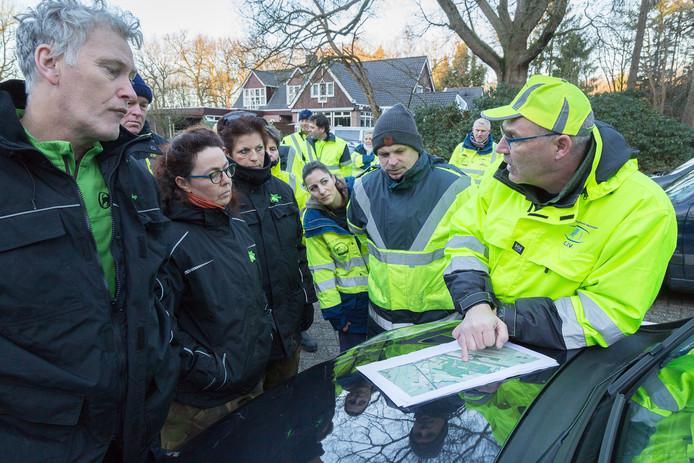 Zoektocht naar vermiste Frans Mistrate Haarhuis rondom Hoogeveen.