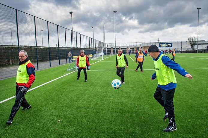 Walking football bij Blauw-Wit.