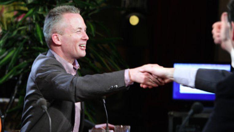 De VVD werd onaangenaam verrast toen bleek dat de naam van lijstduwer Eric van der Burg was weggevallen van het stemformulier. Foto Jean-Pierre Jans Beeld