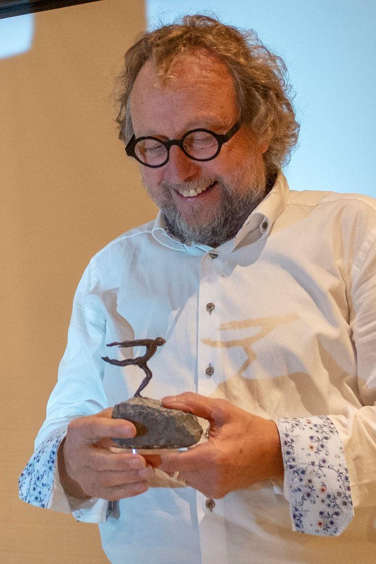 Norbert Maes kreeg een Lifetime Achievement Award van vzw Studio.