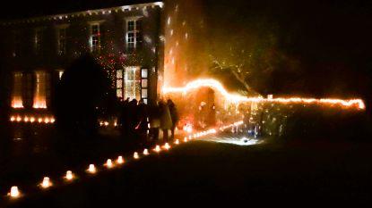 Begijnhof baadt in feeëriek kerstlicht
