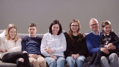 'Het gezin' van Baptiste bereidt zich voor op Special Olympics