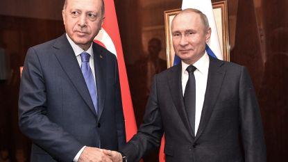 Erdogan en Poetin ontmoeten elkaar deze week wegens escalerend conflict in Syrië, Erdogan hoopt op staakt-het-vuren