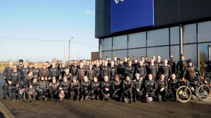 97 wielertoeristen genieten wekelijks van de fiets bij Groot Halle Toerist