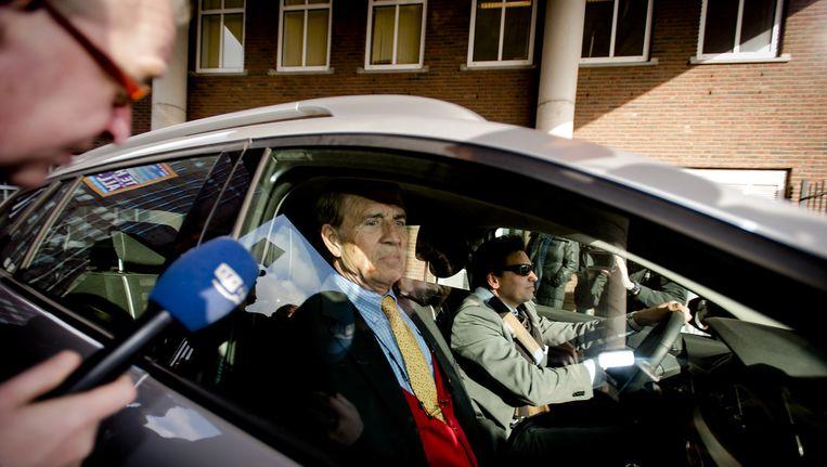 Ex-neurloog Jansen Steur in februari bij de rechtbank. Beeld anp