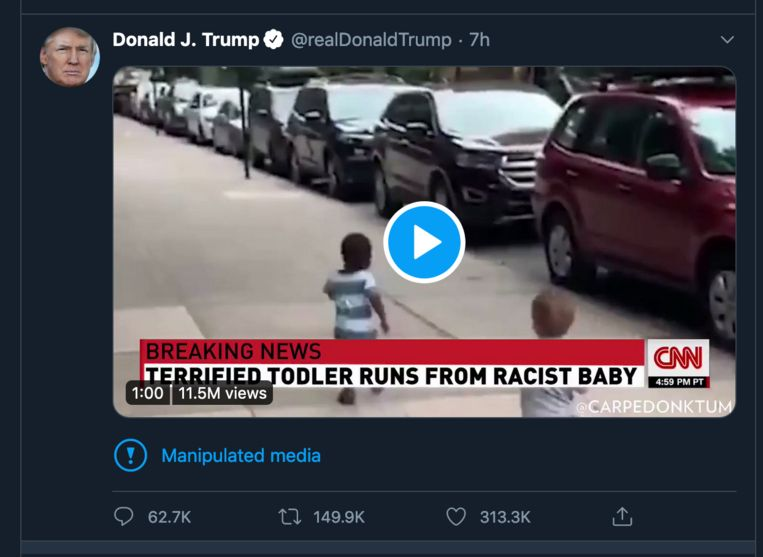 Trump calls out Twitter for shadow banning Americans without their knowledge…