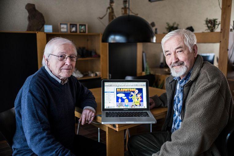 Paul Verschaeren (73) en Walter Decoene (77) van Blauwtong.
