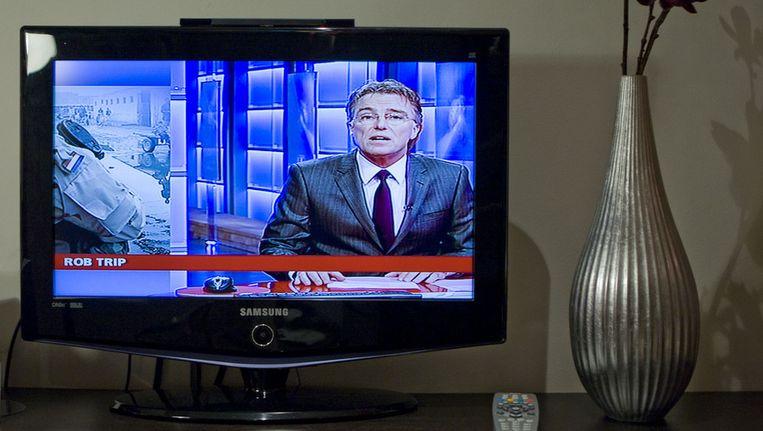 Het meest bekende nieuwsmedium is volgens de scholieren het NOS Journaal. Beeld ANP