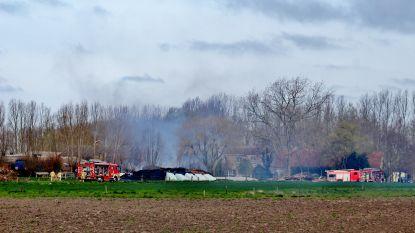 Zware stalbrand in Zevekote