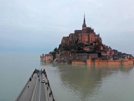 Le Mont-Saint-Michel en rénovation: les travaux dureront plus de deux ans