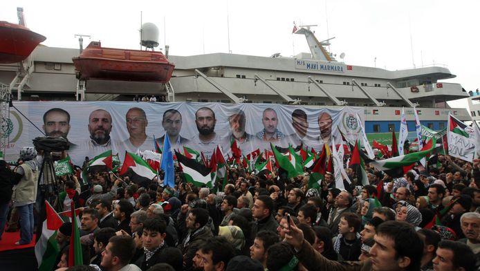 Neuf passagers du navire turc Mavi Marmara avaient été tués, provoquant une crise diplomatique entre les deux pays.