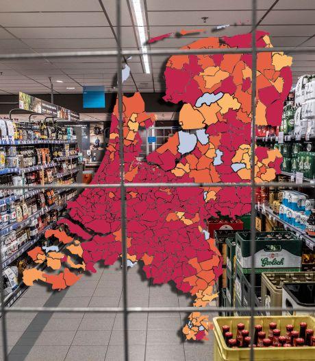 KAART | Tweede golf rolt uit in regio, hardnekkige brandhaarden: Bekijk de nieuwe cijfers over jouw gemeente