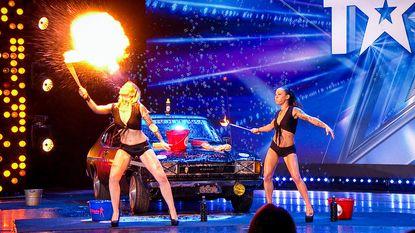 Bubble Babes moeten act stopzetten in Belgium's Got Talent