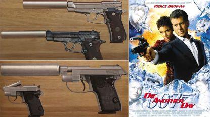 Vijf pistolen uit James Bond-films gestolen in Londen: buit heeft waarde van ruim 110.000 euro