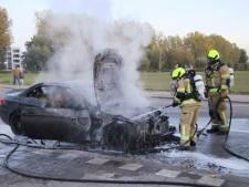 Auto uitgebrand in Hulst