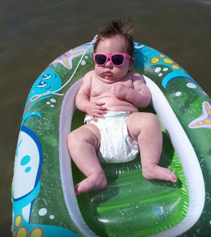 Theo van Kesteren stuurde vorig jaar deze foto in van zijn kleindochter Gail.