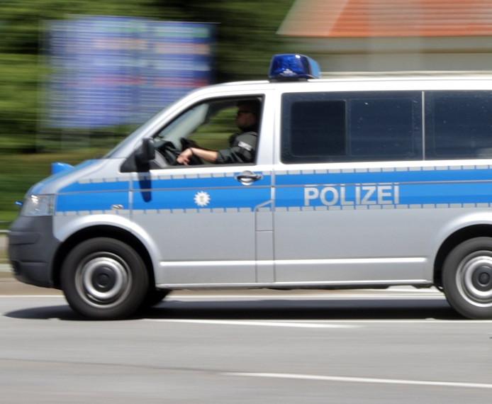 Een politieauto in Duitsland, foto ter illustratie.