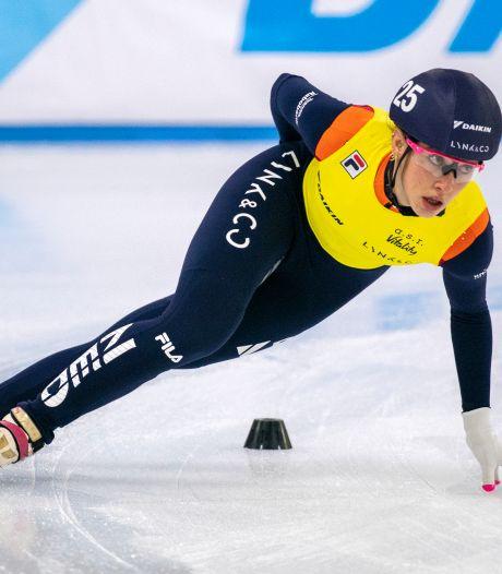 Schulting sneller dan Lancee en wint 1500 meter op Invitation Cup