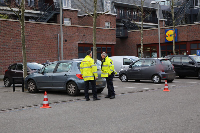 Ontvoering op parkeerplaats Lidl in Eersel