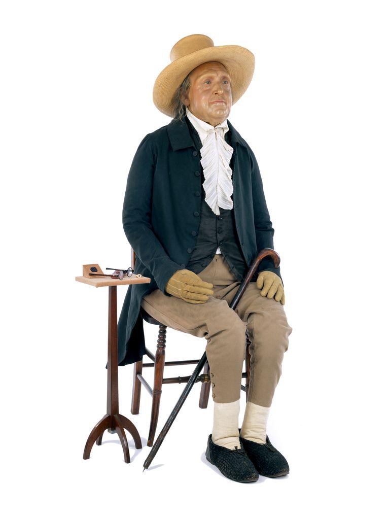 'Auto-ikoon' van Jeremy Bentham, 1832. Beeld UCL Culture, Londen