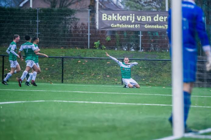 Jorik Mijnhijmer viert de 2-0