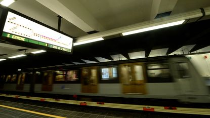 Gratis wifi in alle Brusselse metrostations