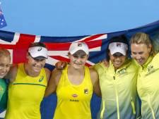 Australische tennissters ten koste van Wit-Rusland naar finale Fed Cup