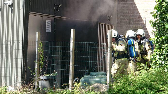 De brandweer rukte woensdagmorgen uit voor een brand bij restaurant Sukade aan de Stoombootkade in Meppel.