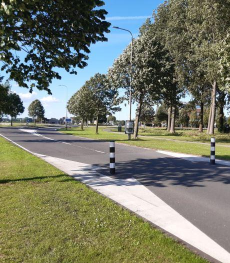 Aanpak Rijksstraatweg Numansdorp uitgesteld: paaltjes wijken voor 'veiligere' oversteekdrempel