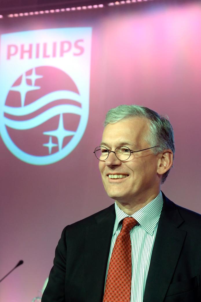 Philipstopman Frans van Houten krijgt opnieuw te maken met ontevreden aandeelhouders.