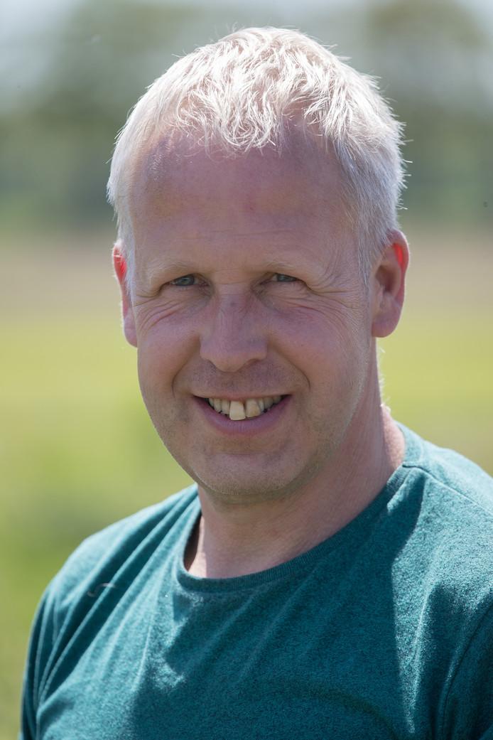 Jan Schenk is een van de initiatiefnemers van de voedselwerkplaats op Den Nul.