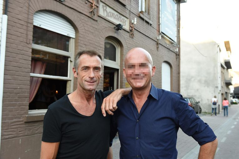 Frank Rickaert (links) en Christophe B. (rechts).