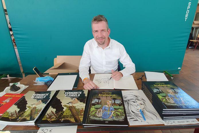 Striptekenaar Luk Martens