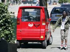 Onhandige inbrekers proberen ramkraak te plegen met brommobiel
