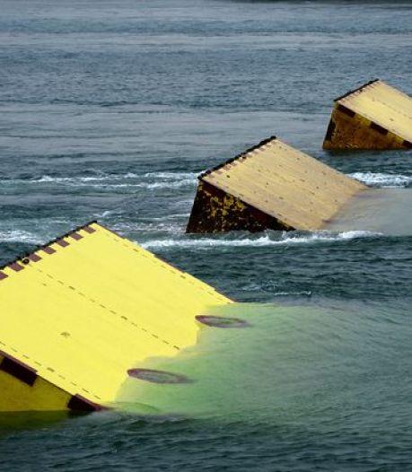 Venise se protège avec des digues artificielles