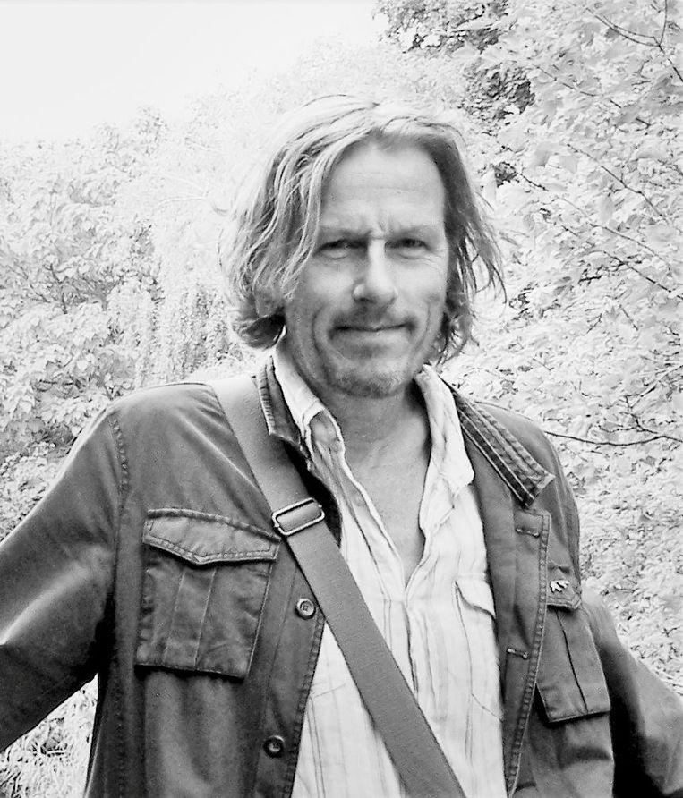 Peter Lenssen, schrijver van de romans Bitterdagen en Pleisterplaats Belleville, genomineerd voor de Halewijnprijs 2018 Beeld