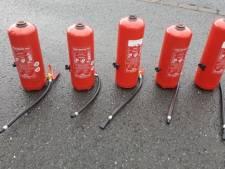 Dertien maanden cel voor verstoppen heroïne in brandblussers