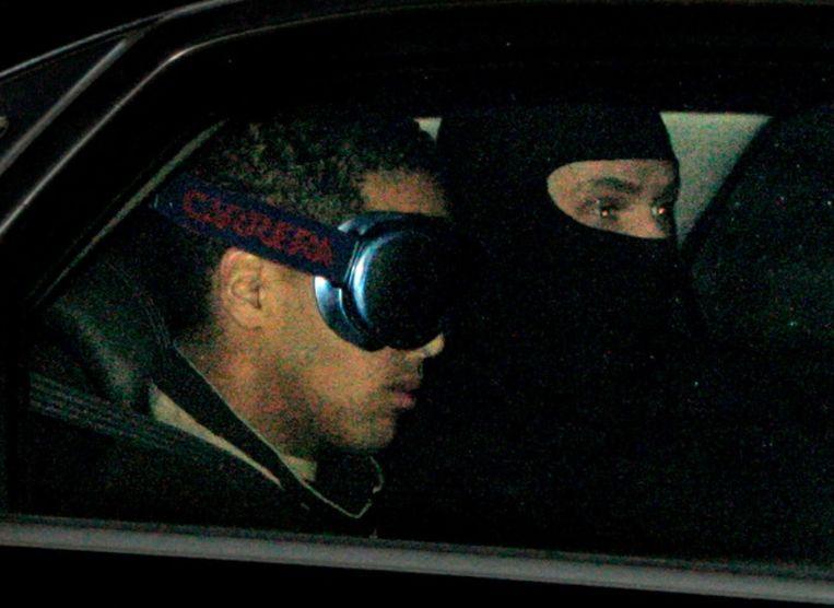Jason Walter toen hij naar de cel werd gevoerd in 2006.