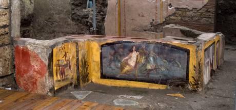 Afhaalrestaurant met bijna 2000 jaar oude etensresten blootgelegd in Pompeï