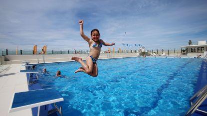 Openluchtzwembad Oostduinkerke is open, Hoge Blekkerbad blijft nog even dicht