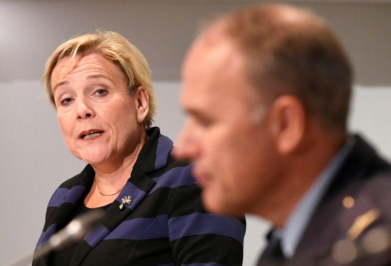 De Nederlandse minister van Defensie Ank Bijleveld.