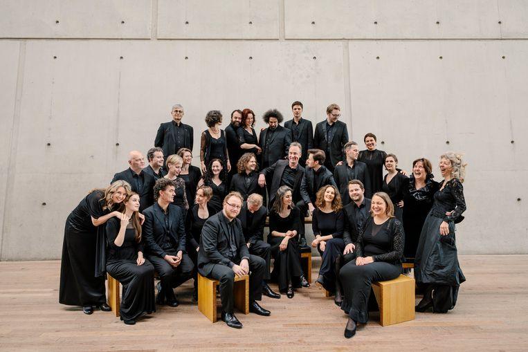 Opluchting en blijdschap bij Cappella Amsterdam.  Beeld Marc Driessen